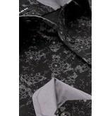 TONY BACKER Overhemd met Print Heren - Slim Fit - 3068NW - Zwart