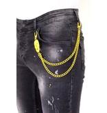 LF Exclusieve Zwarte Jeans Heren Slim fit - 1033- Zwart