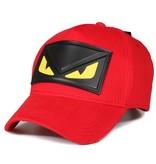 Enos Baseball Cap Heren - Yellow Eye - Rood