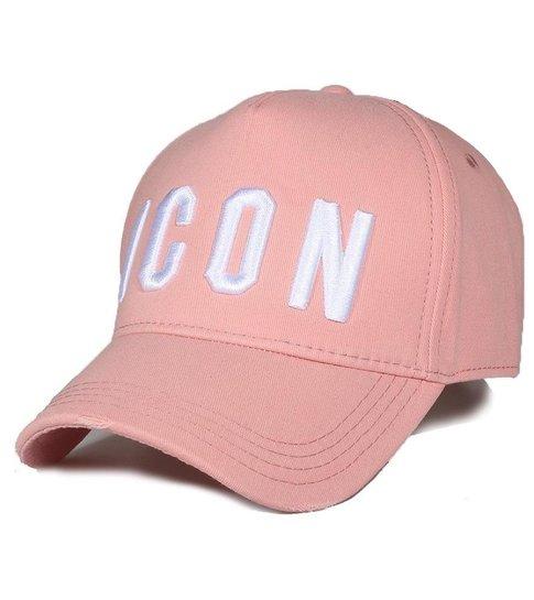 Enos Baseball Cap Heren - ICON Verfspatten - Roze