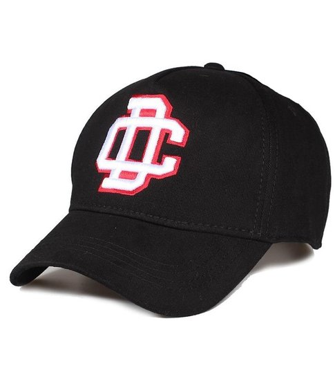 Enos Baseball Cap Heren DC - Zwart