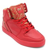 Cash Money Heren Sneakers - Majesty Red Gold 2 - CMS13 - Rood