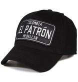 Enos Baseball Cap Heren - El Patron - Zwart / Wit