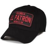 Enos Baseball Cap Heren - El Patron - Zwart / Rood