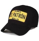 Enos Baseball Cap Heren - El Patron - Geel / Zwart