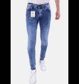 TRUE RISE Heren Jeans Slim Fit- 5305 - Licht Blauw