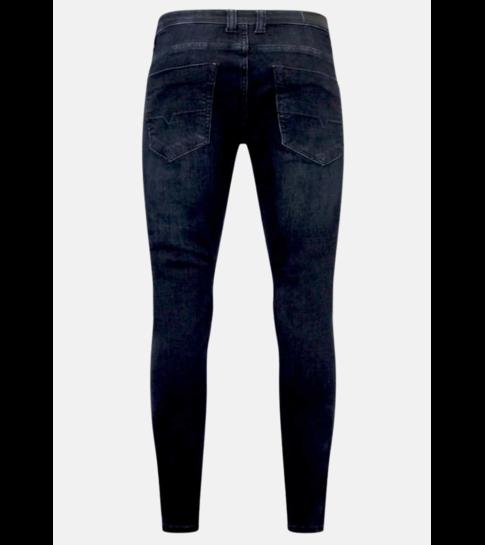 TRUE RISE Stretch Jeans Heren - A-11025 - Blauw