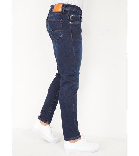 TRUE RISE Spijkerbroek Heren Regular Fit - DP09 - Blauw