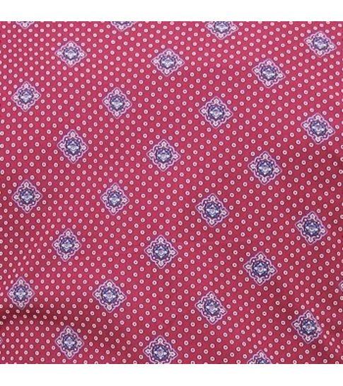 TONY BACKER Overhemd met Print Heren - Slim Fit - 3087 - Rood