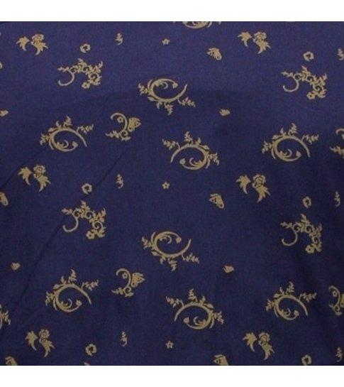 TONY BACKER Gebloemd Overhemd Heren- Slim Fit - 3086 - Navy