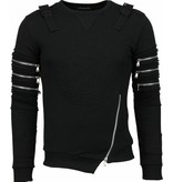 Devil Slayer Laser Team - Sweater - Zwart
