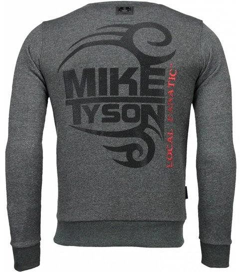Local Fanatic Mike Tyson - Rhinestone Sweater - Antra