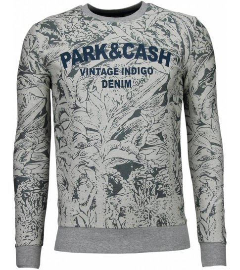 BN8 BLACK NUMBER Park&Cash - Sweater - Grijs