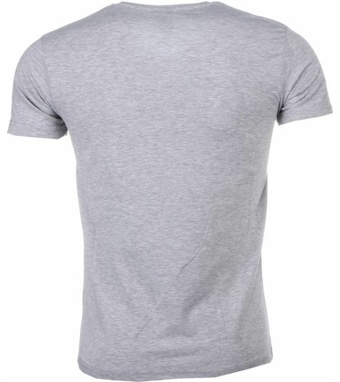 Mascherano T-shirt Made To Get Paid Scarface - Grijs