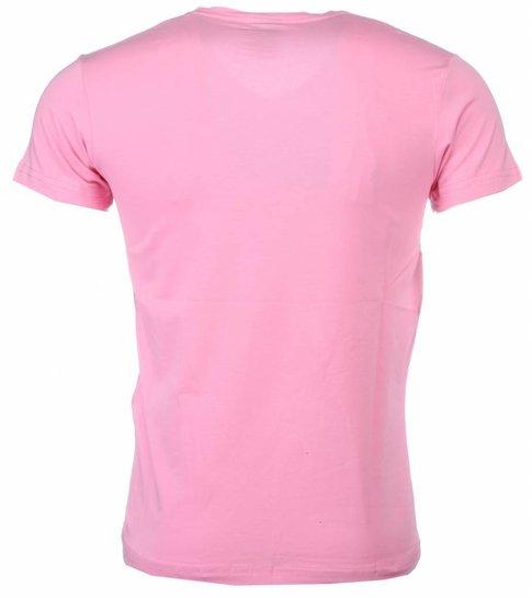 Local Fanatic T-shirt - Chucky - Roze