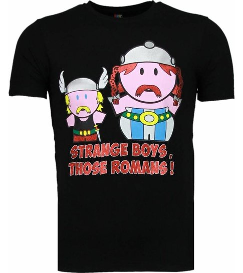 Local Fanatic Romans - T-shirt - Zwart