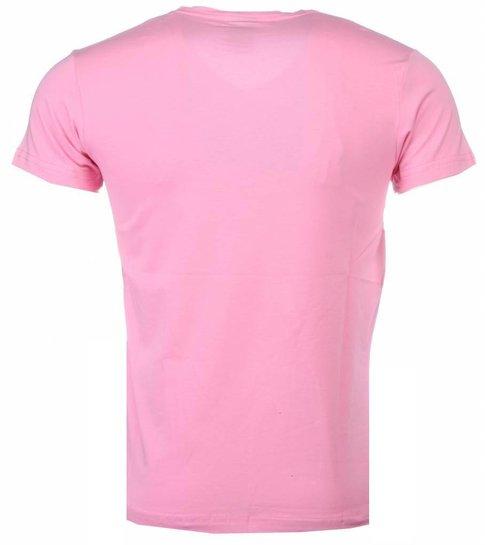 Local Fanatic Romans - T-shirt - Roze