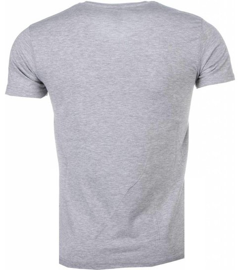 Local Fanatic Romans - T-shirt - Grijs