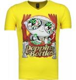 Mascherano Poppin Stewie - T-shirt - Geel