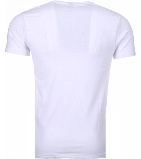 Local Fanatic Rich Stewie - T-shirt - Wit