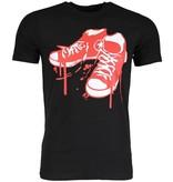 Local Fanatic T-shirt - Sneakers - Zwart