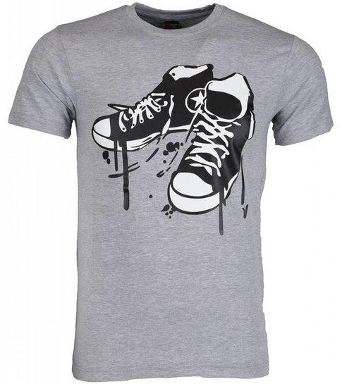 Local Fanatic T-shirt - Sneakers - Grijs