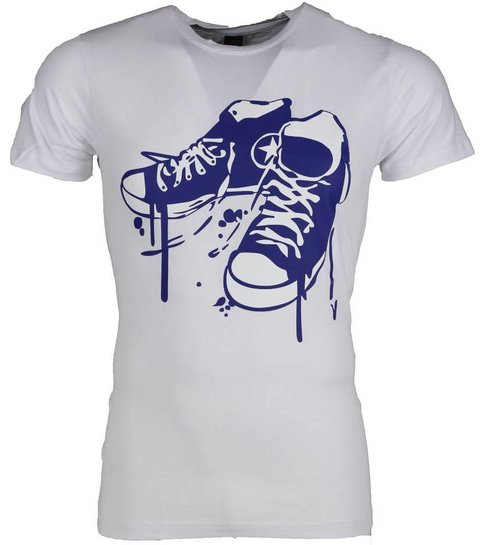 Local Fanatic T-shirt - Sneakers - Wit