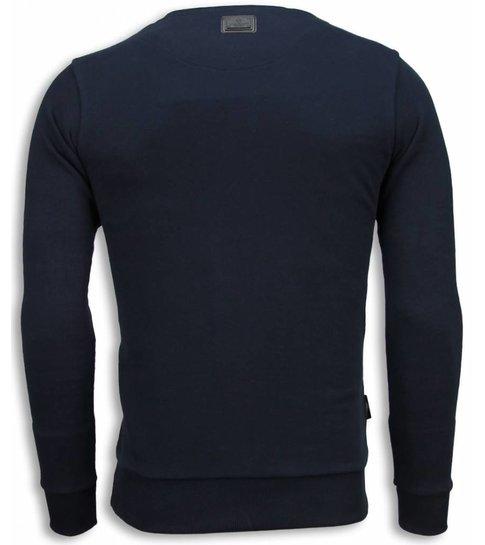 Local Fanatic Popeye Revenge - Sweater - Navy