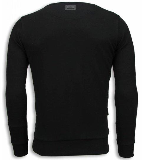Local Fanatic Padrino - The Godfather - Sweater - Zwart