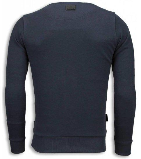 Local Fanatic Bad Joker - Sweater - Donker Grijs