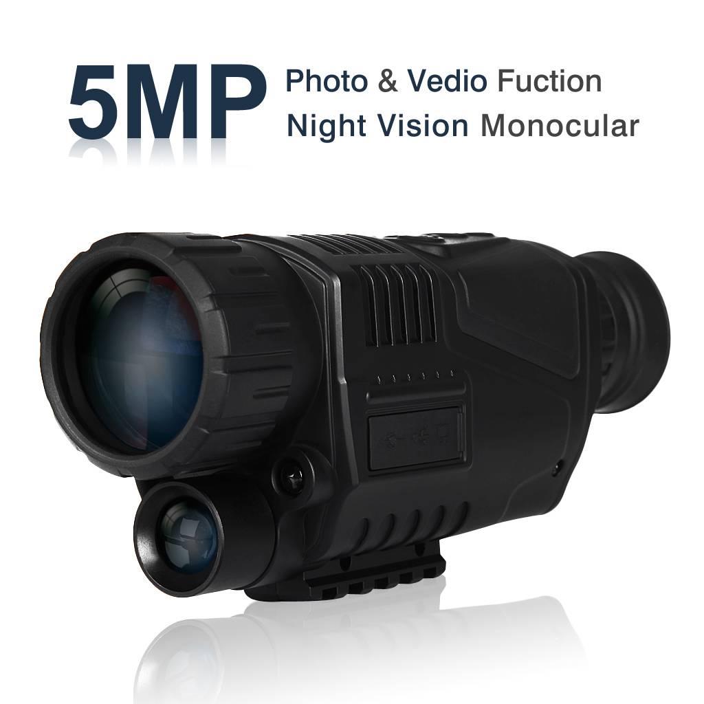 YubiX Nachtkijker 200 meter 5.0MP - 1.44 LCD