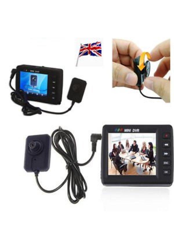 Button knoop camera met digitale videorecorder en afstandsbediening