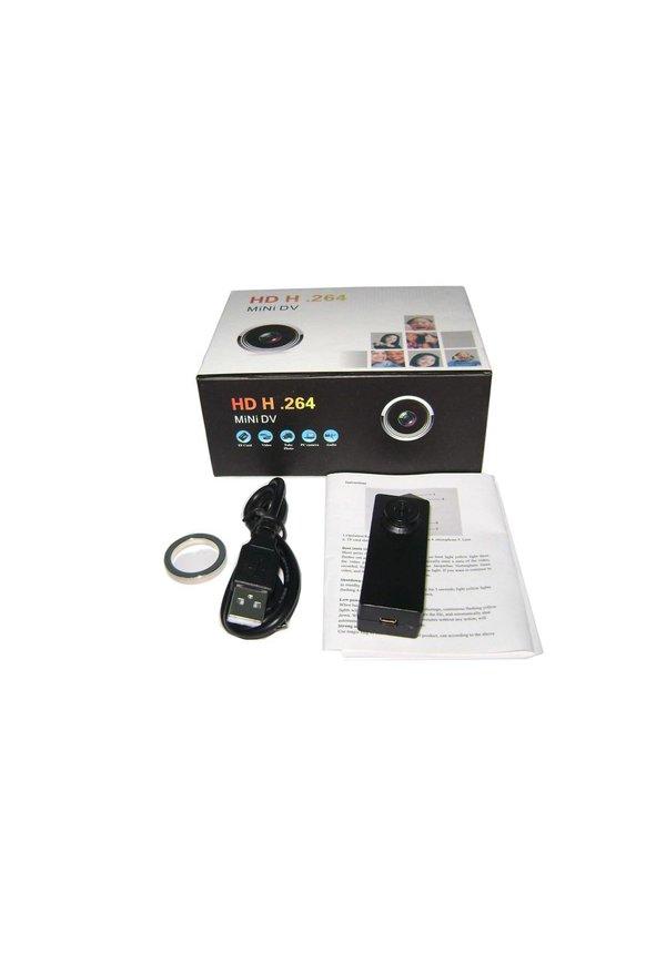 Verborgen camera in knoop met voice recorder FULL HD