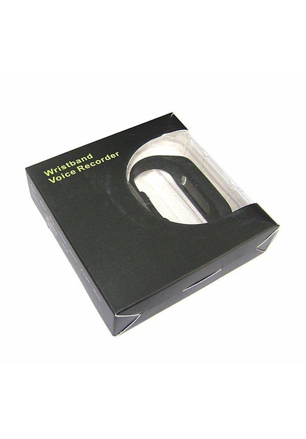 Polsband voice recorder met 8GB