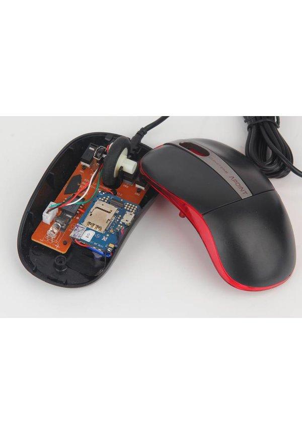 Spy computer muis met GSM afluisterapparatuur microfoon