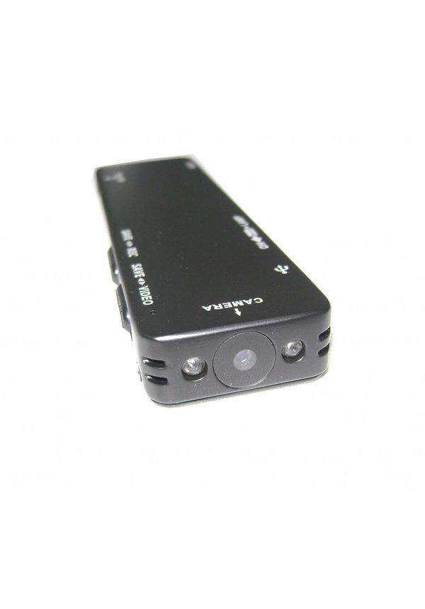 DVR Digitale afluister Voice Recorder met Full HD camera en LED