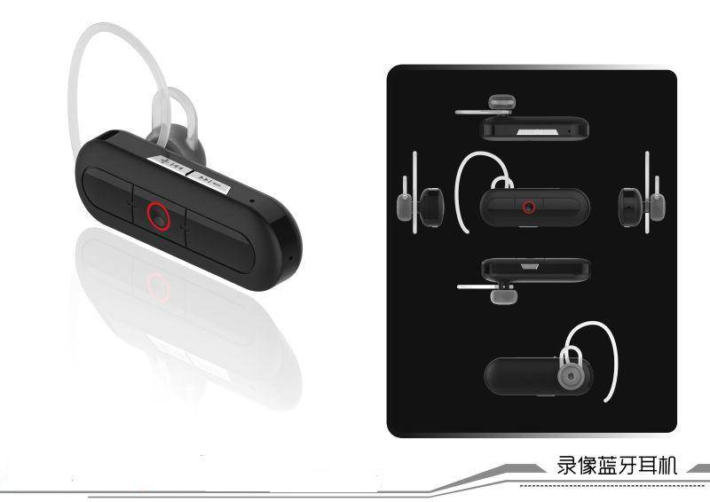 Bluetooth headset camera FULL HD 1920x1080