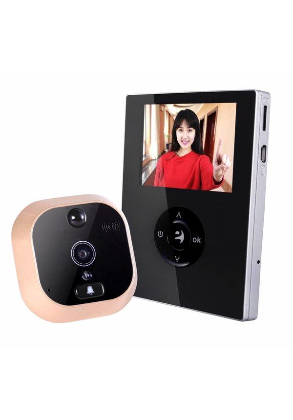 WIFI video deurbel met camera 2.8 INCH LCD scherm
