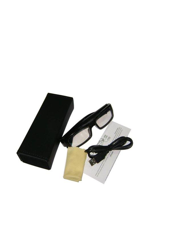 Bril met verborgen camera en geluidsopname