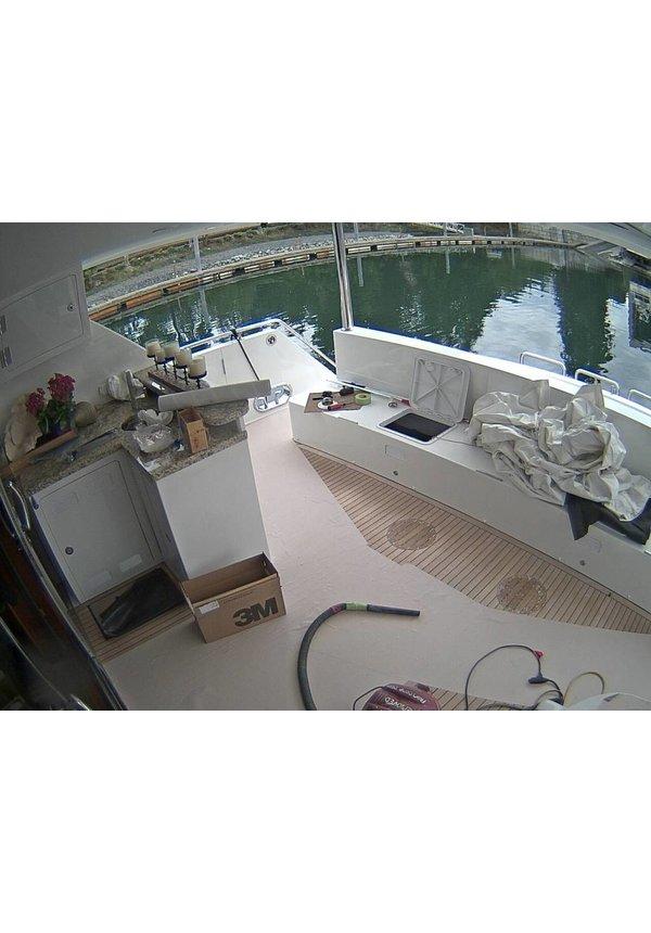 YubiX Wifi beveiligingera set met 4 camera's draadloosscam