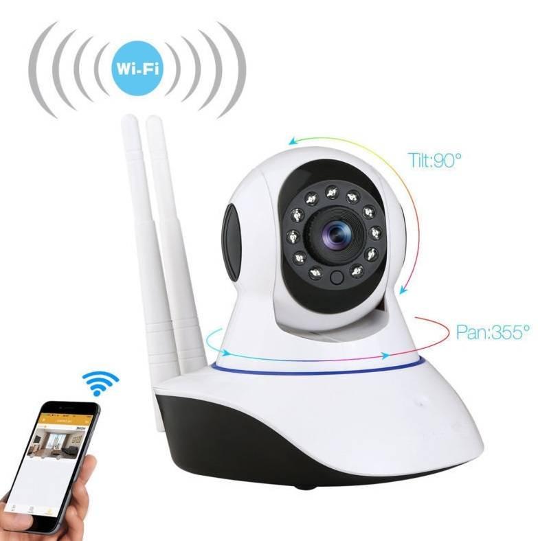 YubiX IP Camera Beveiligingscamera wifi draadloos