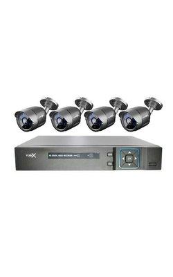 Bekabeld camerasysteem