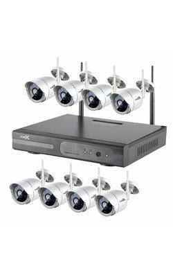 8 camera's (draadloos)