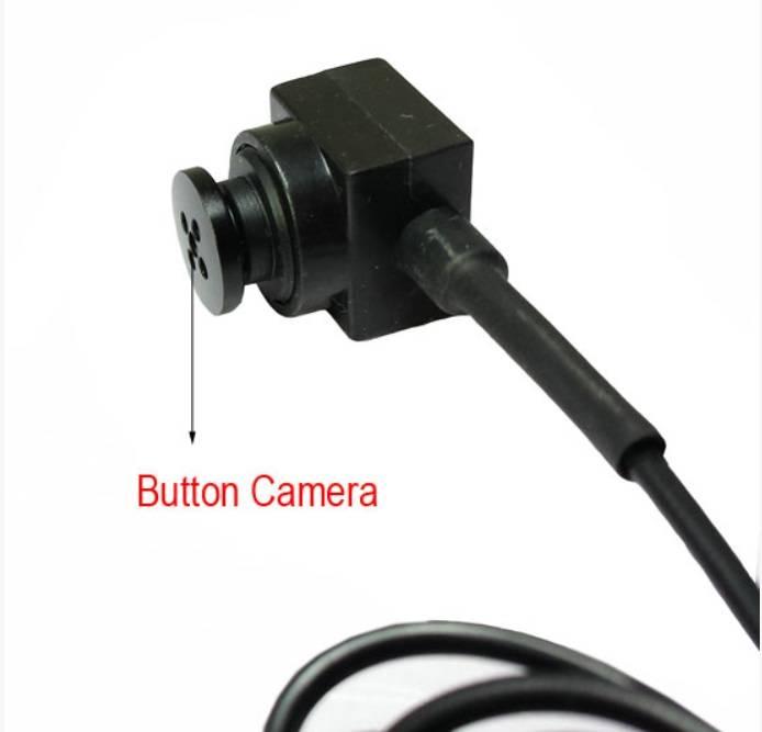 JustCompare Knoop met verborgen camera - Micro usb + Type C
