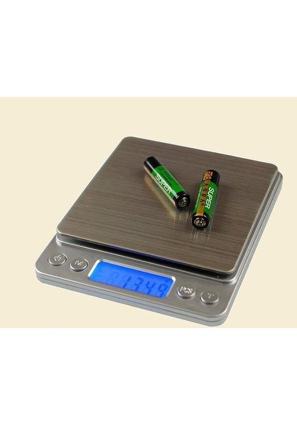 Digitale precisie weegschaal 500g x 0.01 gram