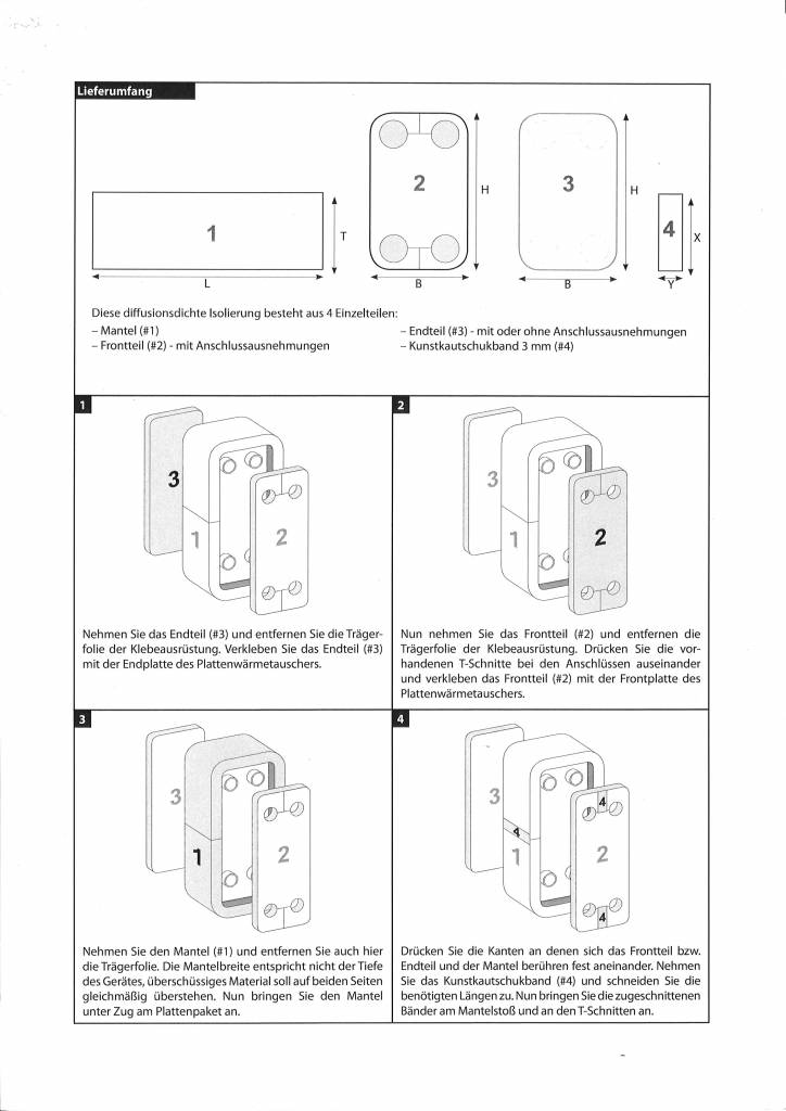 NBR - Isolierung ZC / ZD 4 10mm ( -40°C - 105°C )
