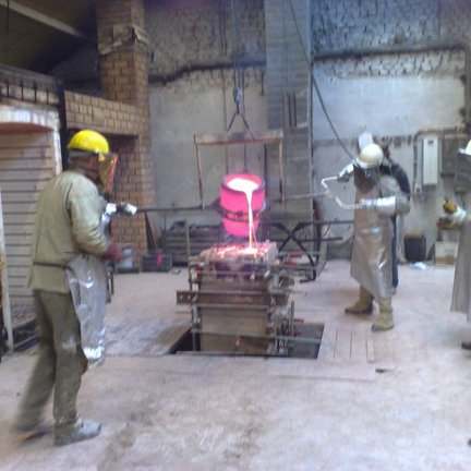 Art casting with Bronze or Tin