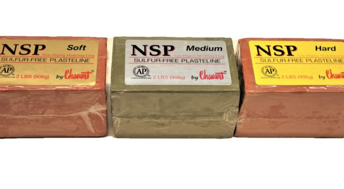 Chavant® Clay NSP Sulphur Free Plastiline