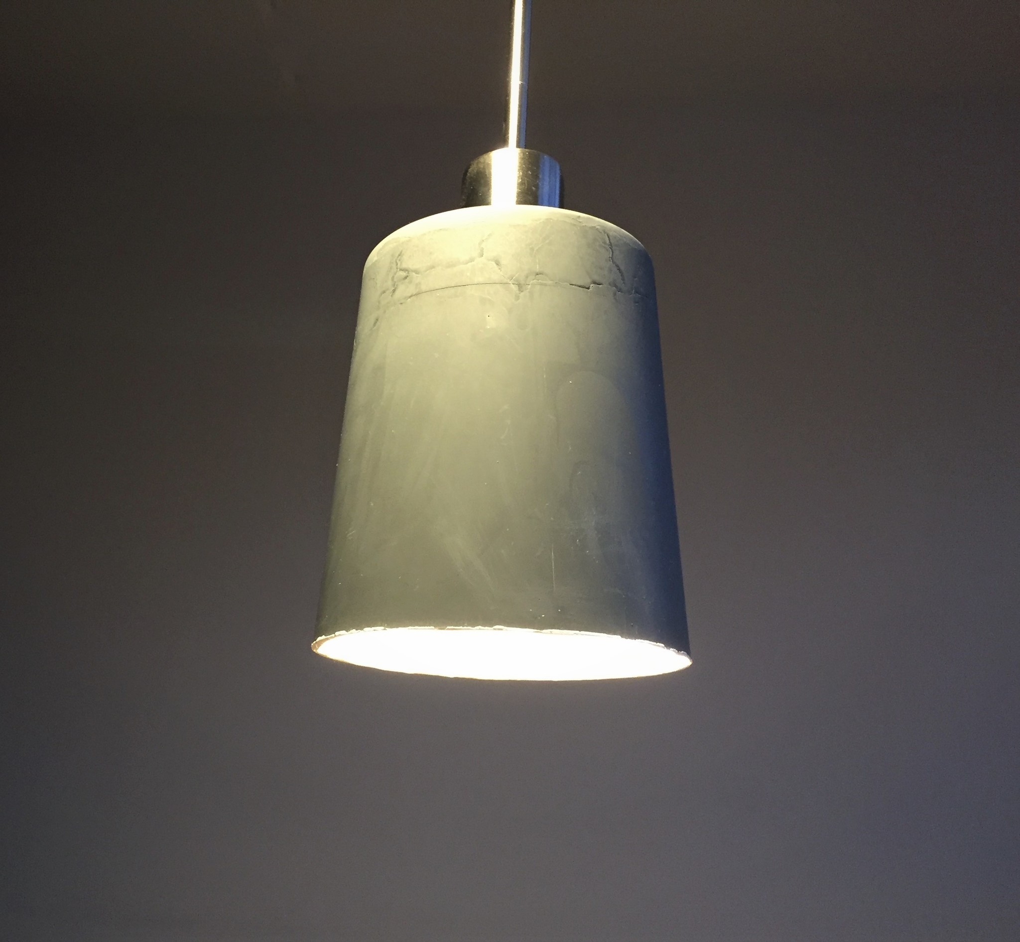 Lamp gegoten van Acryl