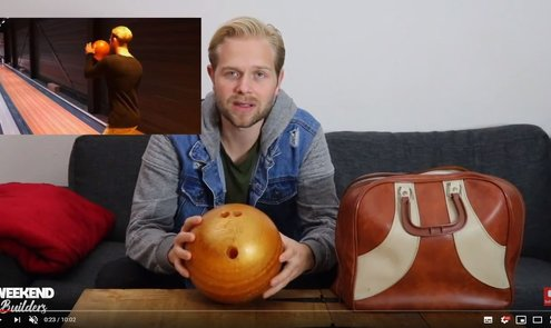 DiY Bowling Ball made from Epoxy Resin!